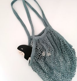 OowlStudio French Cotton net bag - Blue