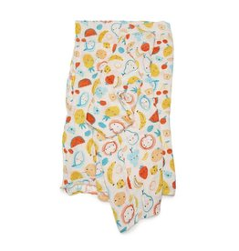 Loulou Lollipop Muslin - Cutie Fruits
