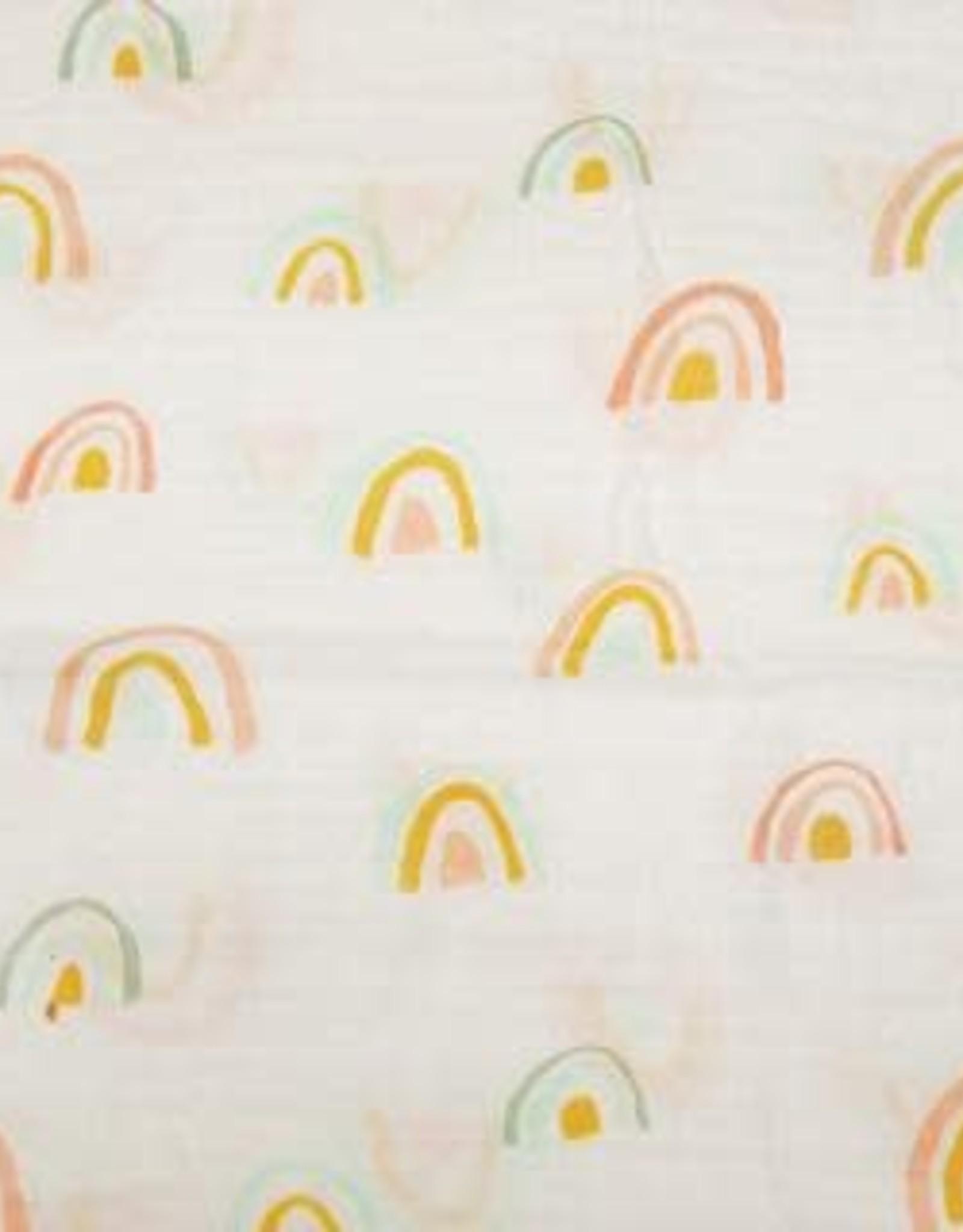 Loulou Lollipop Muslin - Pastel Rainbow