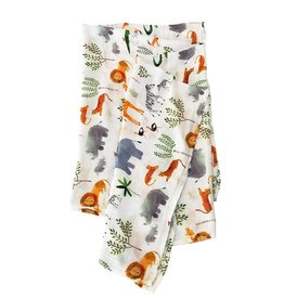 Loulou Lollipop Muslin - Safari Jungle