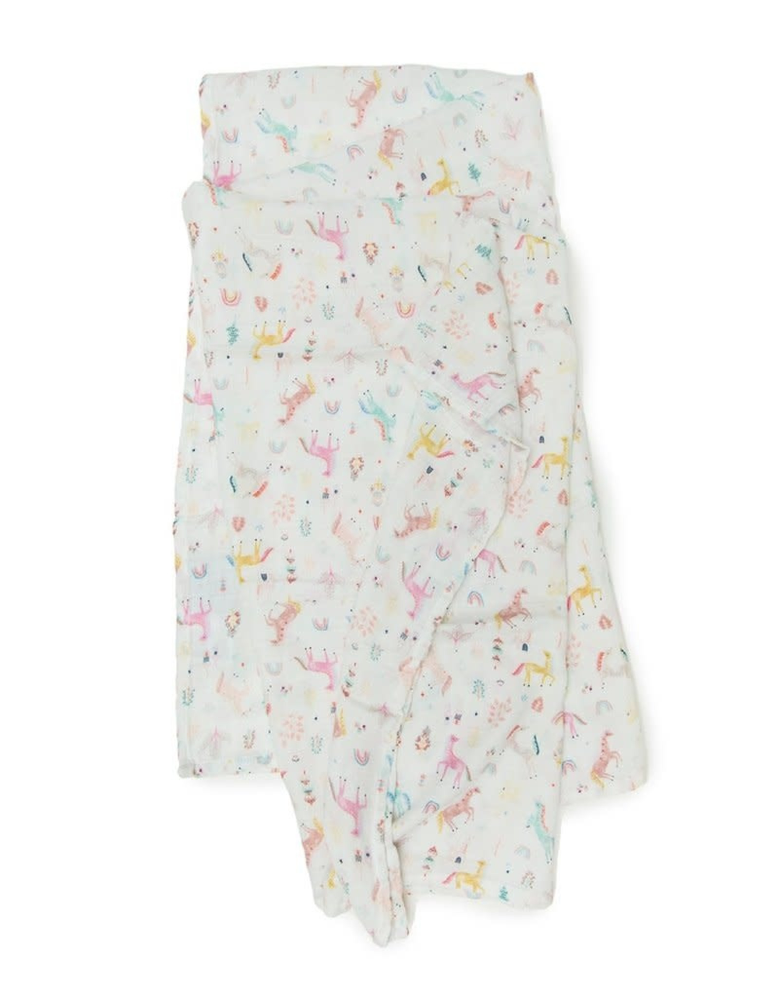 Loulou Lollipop Muslin - Unicorn Dream
