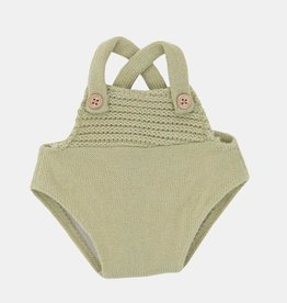 Olli Ella Dinkum Doll Single Romper - Sage Green