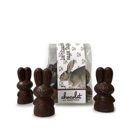 Le Comptoir Chocolat Bunnies hunt - Dark Chocolate