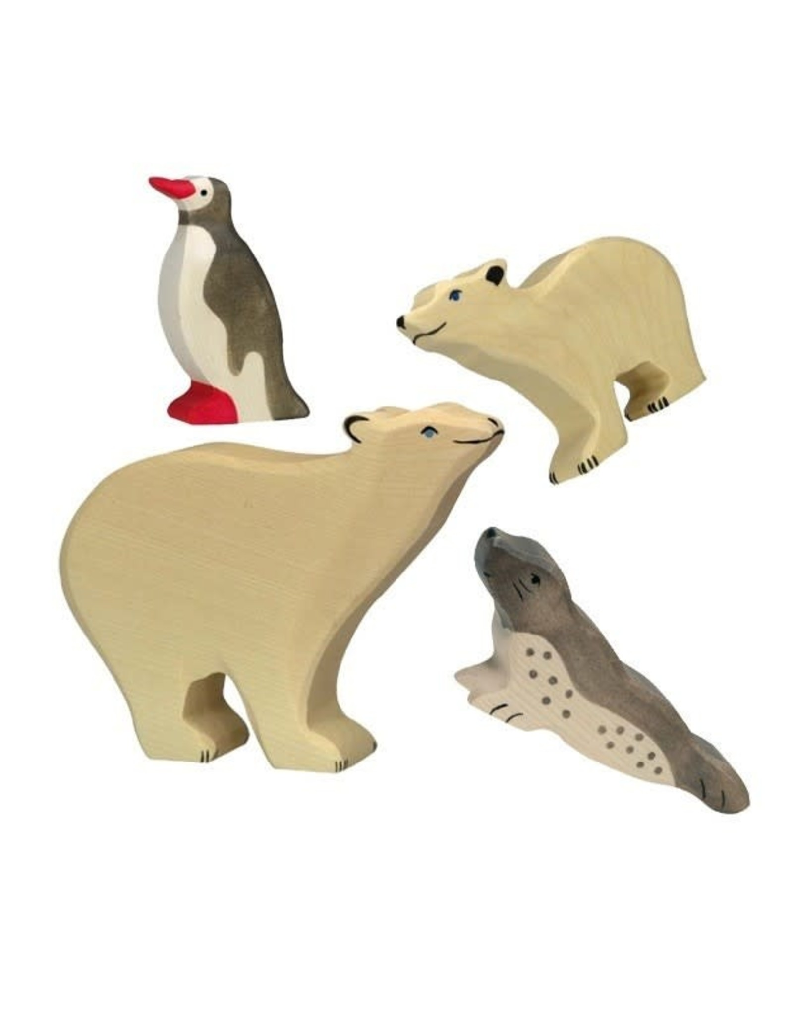Holztiger Wooden Animal - Pinguin