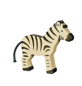 Holztiger Wooden animal - Mother Zebra