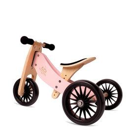 Kinderfeets Vélo d'équilibre Tiny tot PLUS 2 en 1 - Rose