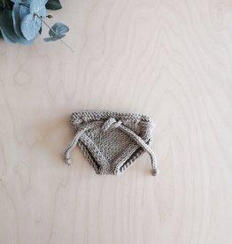 Monamigurumi Culotte de poupée tricoté à la main - Beige