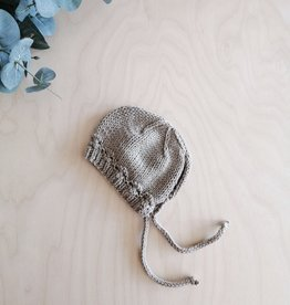 Monamigurumi Bonnet de poupée tricoté à la main - Beige