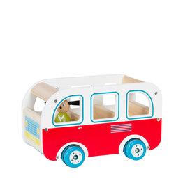 Moulin Roty Grande Famille - Autobus en bois