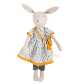 Moulin Roty Mirabelle's Family - Rose the Mama rabbit doll