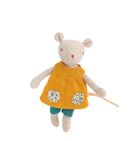 Moulin Roty Mirabelle's Family - Groseille the mouse doll