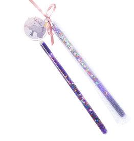 Moulin Roty Glittered Magic Wand - Purple
