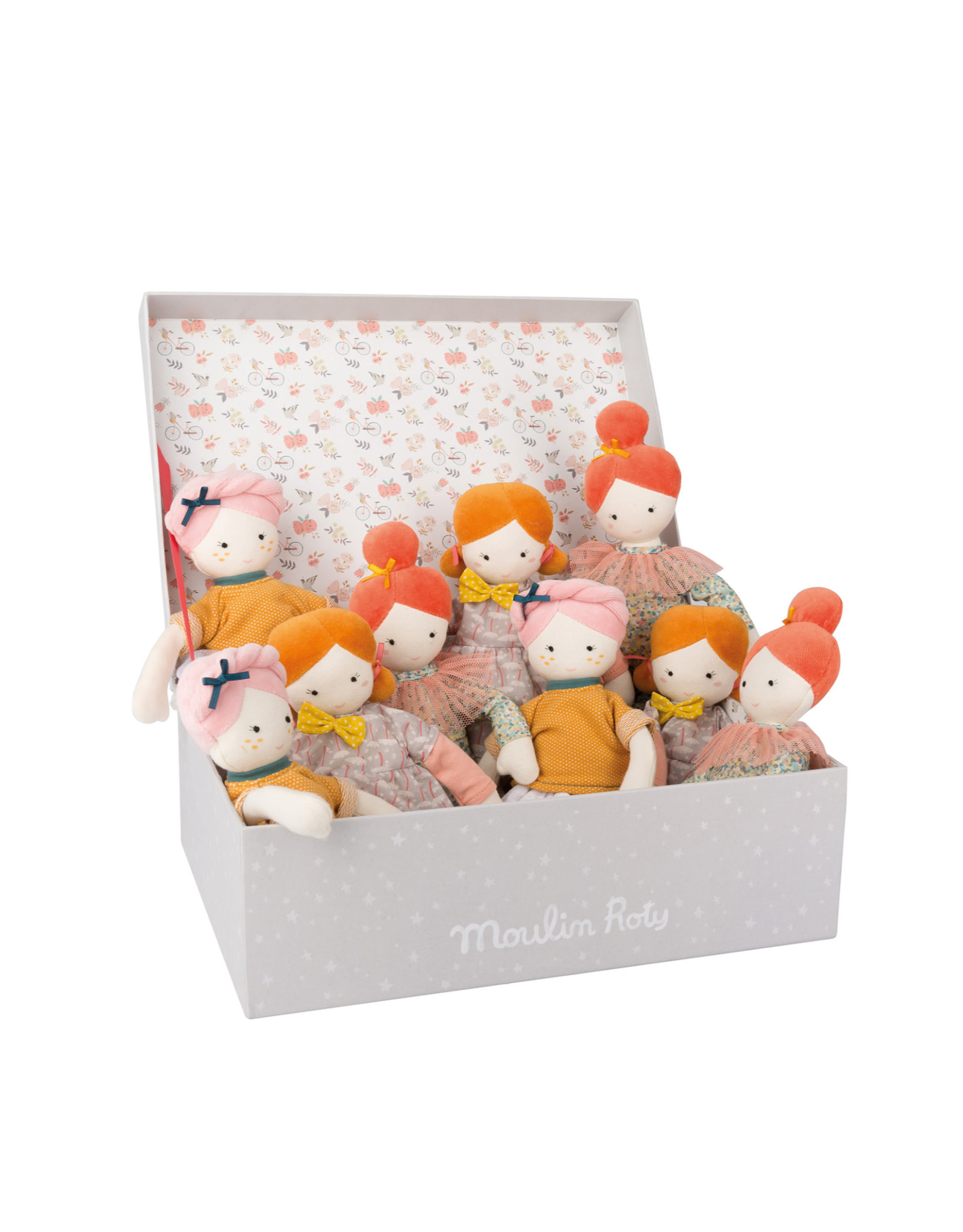 Moulin Roty Parisiennes Soft dolls - Mademoiselle Blanche