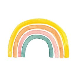 Stéphanie Renière illustration Card - Rainbow