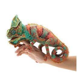 Folkmanis Marionnette petit caméléon