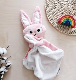 Veille sur toi Baby Blankie - Margot the pink bunny NEW - Pre-order