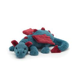 Jelly Cat Plush Dexter The Dragon - Medium