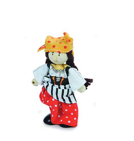 Le Toy Van Wooden Character - Pirate Girl