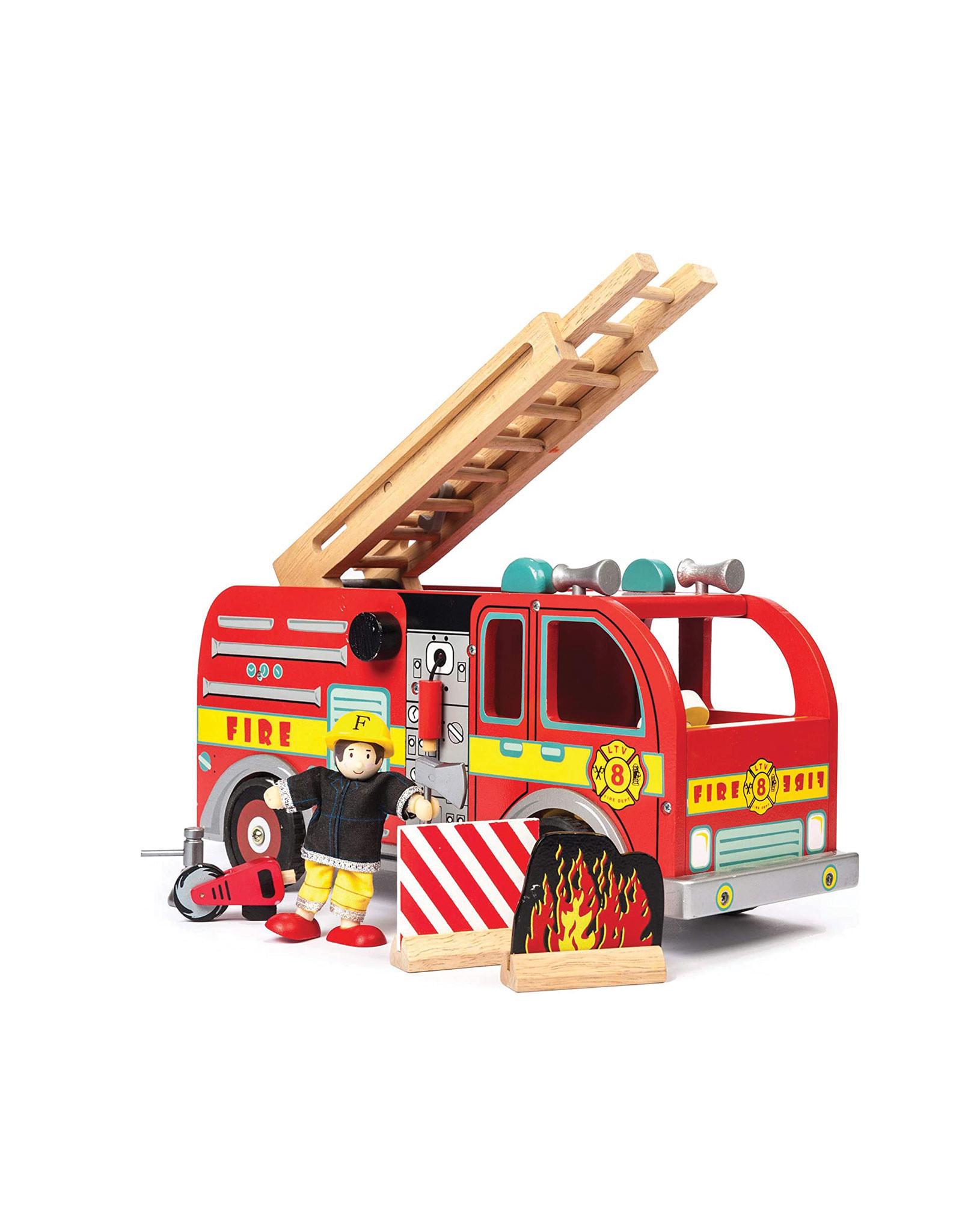 Le Toy Van Camion de pompiers en bois