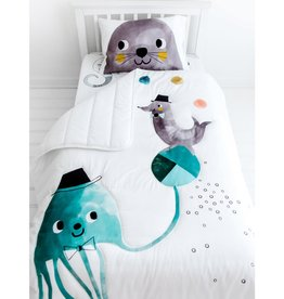 Rookie Humans Toddler Comforter - Jellyfish