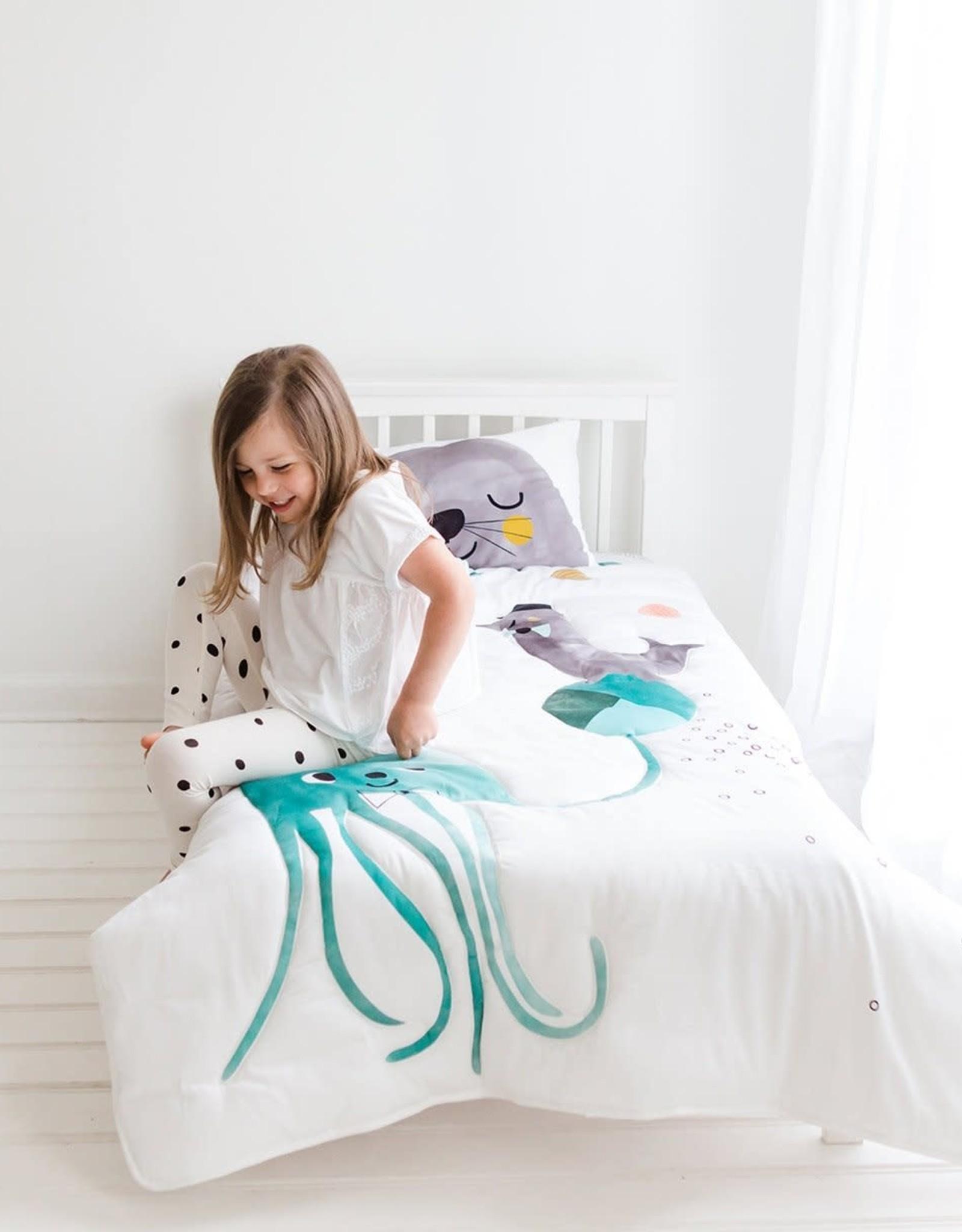 Rookie Humans Toddler Comforter - Jellyfish