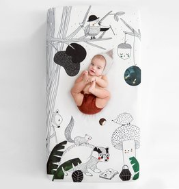 Rookie Humans Cot Sheet - Woodland Dreams