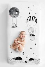 Rookie Humans Cot Sheet - Frieda & The Balloon