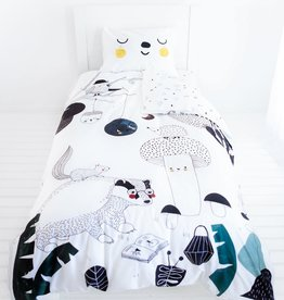 Rookie Humans Twin size bedding set - Woodland Dreams
