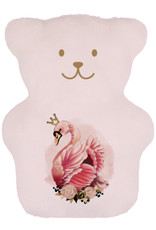 Béké Bobo Therapeutic bear - Flamingo - Pink swan