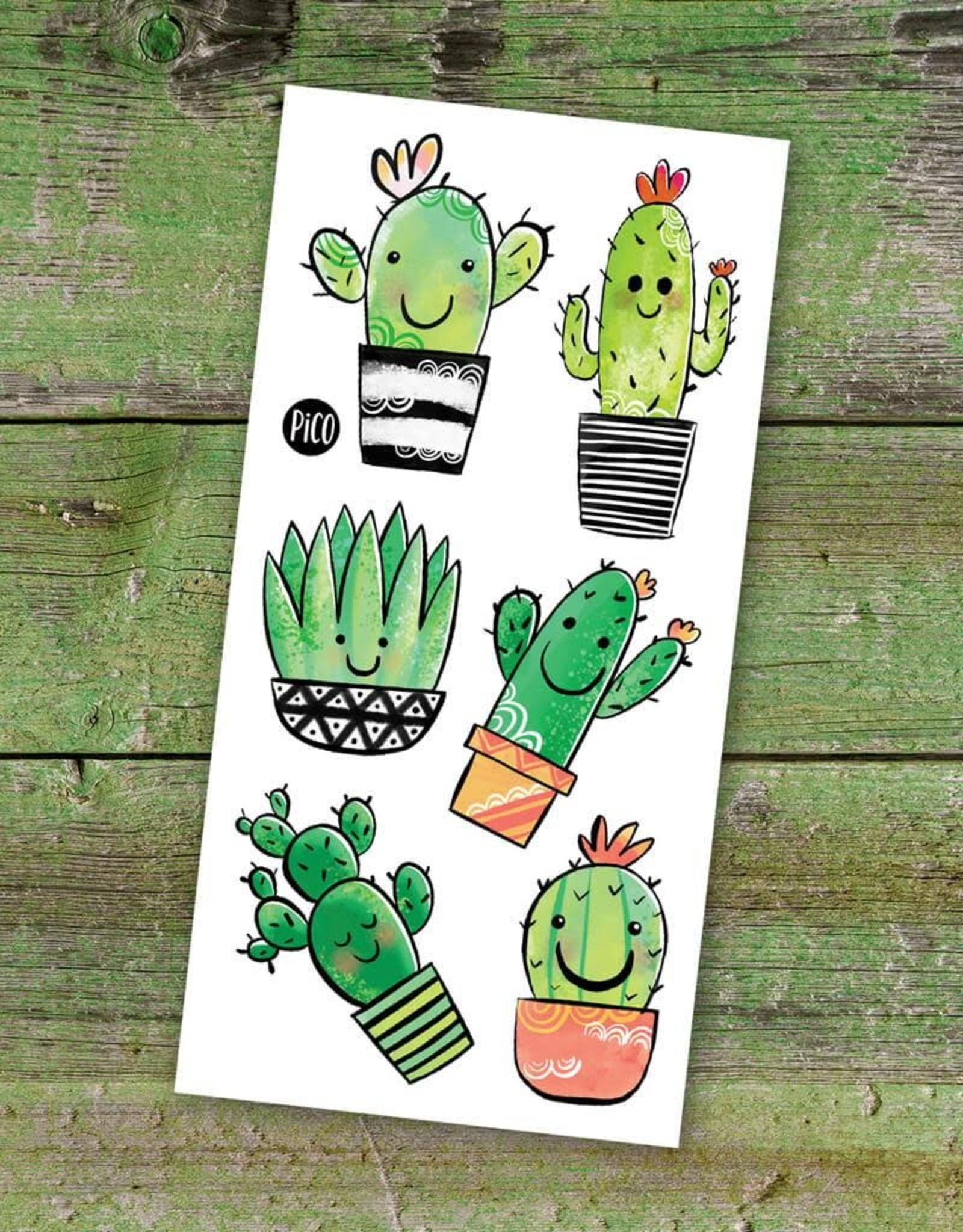 Pico Tattoo - Cute Cactus