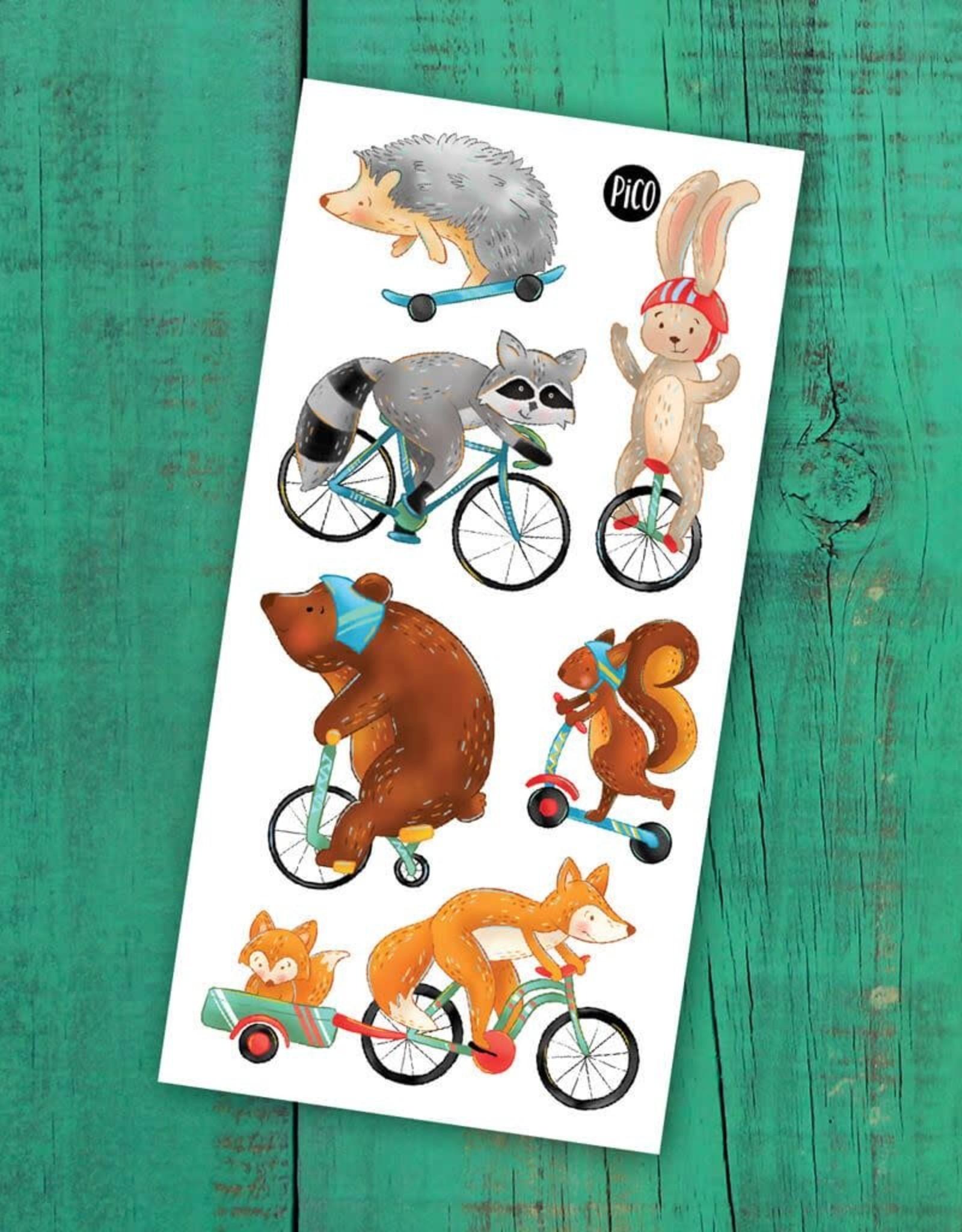 Pico Tattoo -  Bike Ride