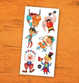 Pico Tatouage - Le cirque acrobatique
