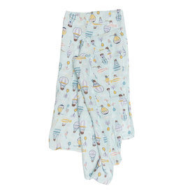 Loulou Lollipop Muslin - Up Up Away