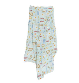 Loulou Lollipop Muslin - Breakfast Blue