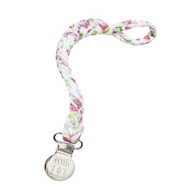 Petit Tot Braided pacifier clip - Watermelon