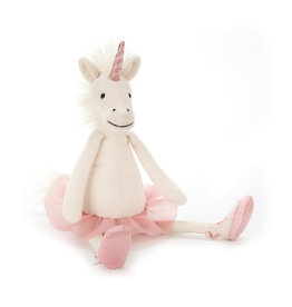 Jelly Cat Stuffed animal - Medium Dancing Darcey Unicorn