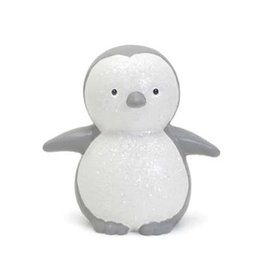 Child to Cherish Bank - Peter The Penguin Gray And White
