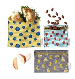 Demain Demain Trio de sacs réutilisables - Fruits