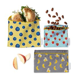 Demain Demain Trio of reusable bags - Fruits