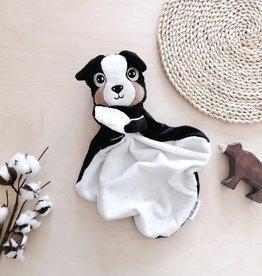 Veille sur toi Baby blankie - Dog - Bernard