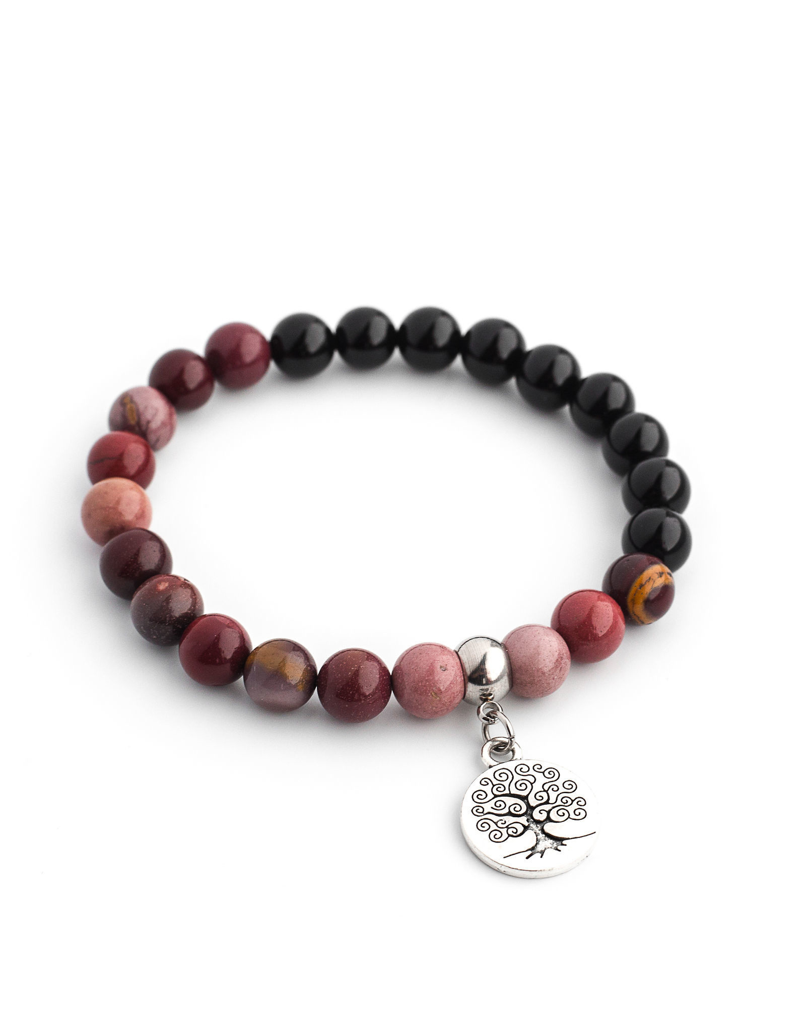 Bijoux Sophistikate Bracelet de pierre semi-précieuse - Arbre de vie