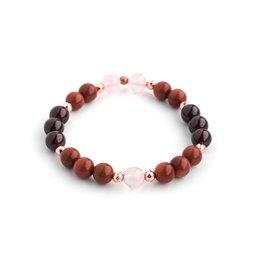 Bijoux Sophistikate Bracelet de pierre semi-précieuse - Befana
