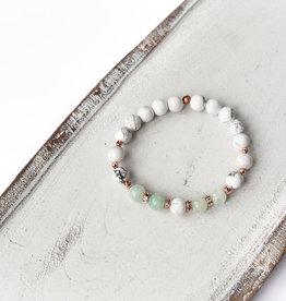 Bijoux Sophistikate Bracelet en pierre semi-précieuse - Peacefull