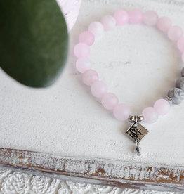 Bijoux Sophistikate Bracelet en pierre semi-précieuse - Parle-moi d'amour