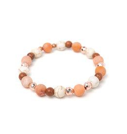 Bijoux Sophistikate Bracelet en pierre semi-précieuse - Hally