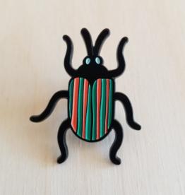 Tattoo It Beetle soft Enamel Pin