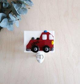 Veille sur toi Veilleuse avec bobo varié - Camion de pompier