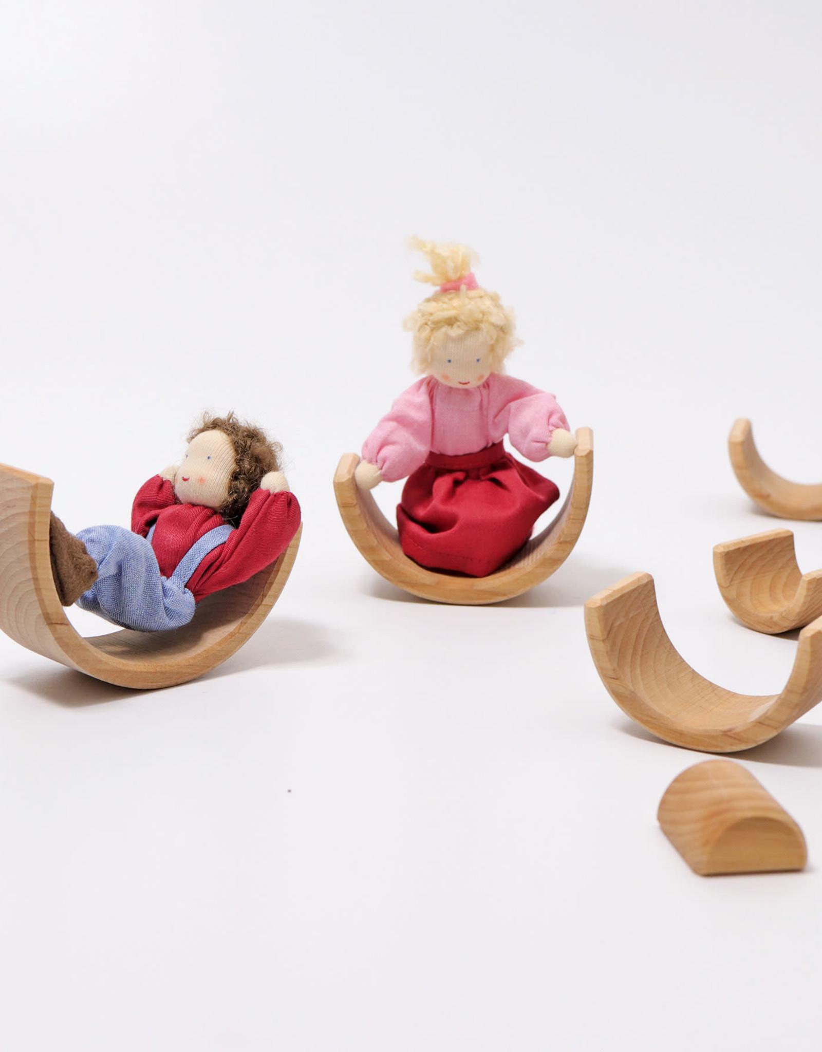 Grimm's Arc-en-ciel en bois- Petit naturel