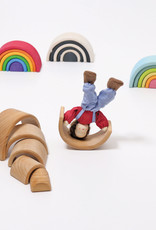 Grimm's Wooden Rainbow - Small Natural