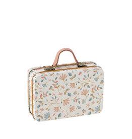 Maileg Petite valise en métal - Jolies fleurs